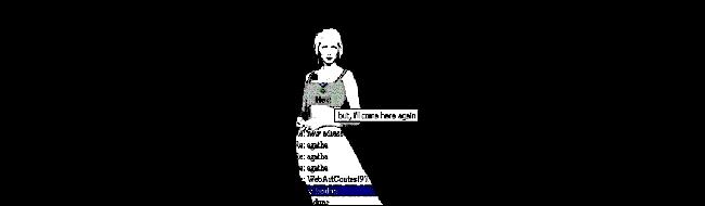 Olia Lialina: Agatha Appeares, net-art