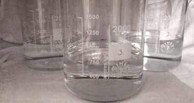 Store the glass containers in a quiet & dark place. Do not prevent evaporation. Evaporation is needed to create ideal ratio of the solution.